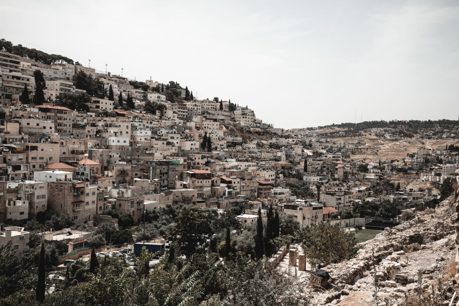 City of David Davidsstadt Jerusalem