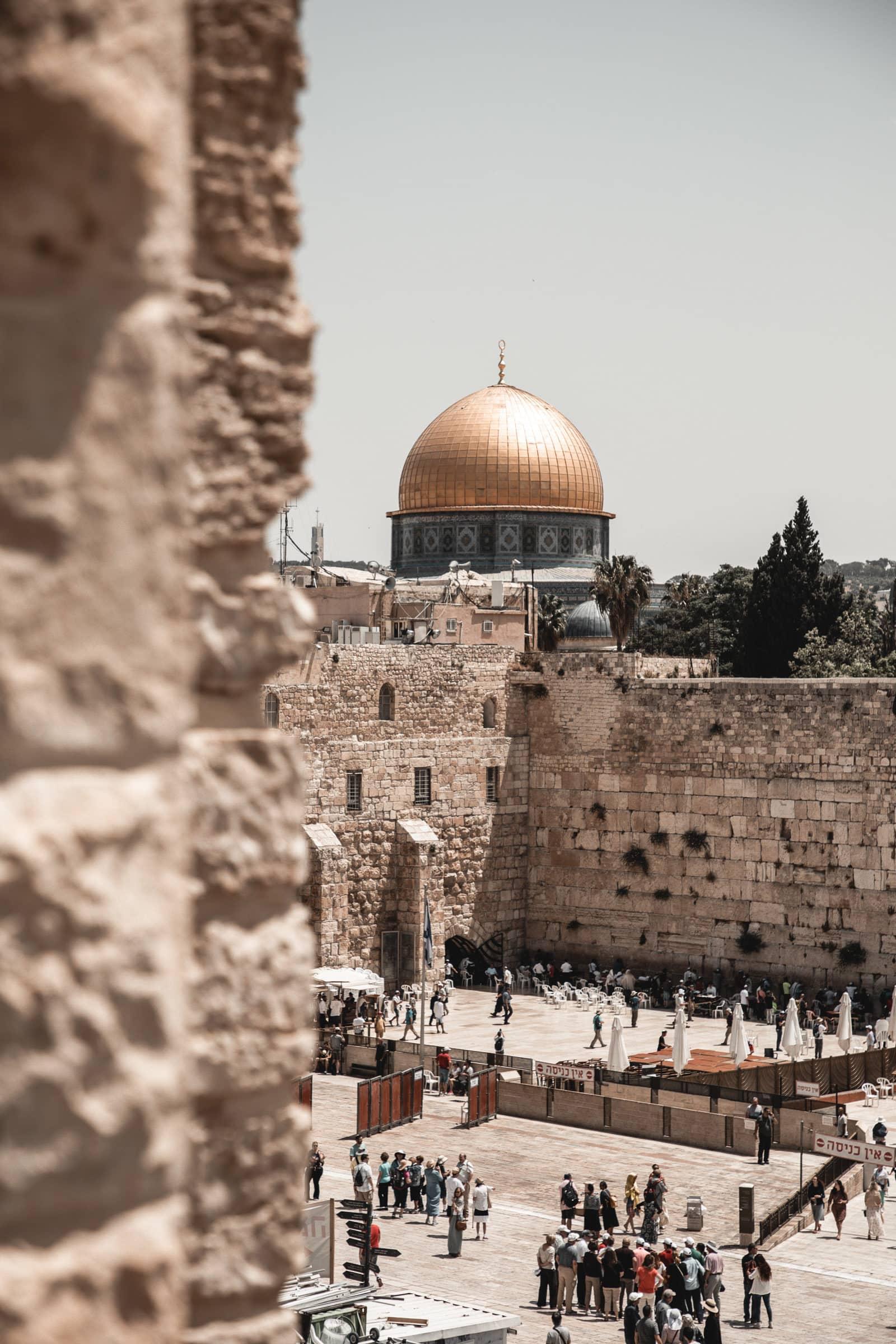 Klagemauer Felsendom Jerusalem