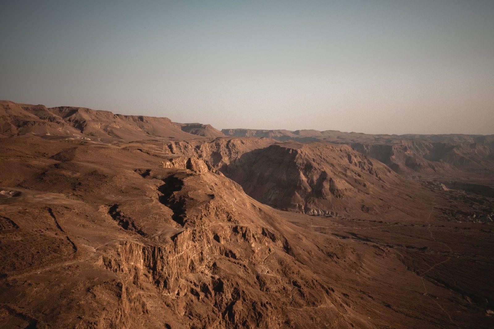Wüstenlandschaft Totes Meer und Judäische Wüste