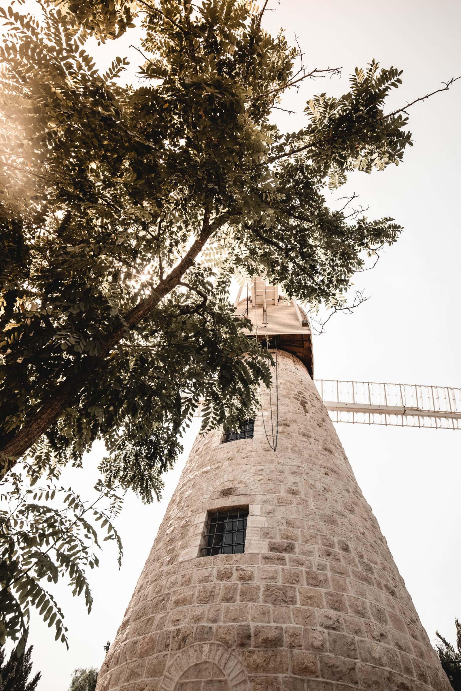 Montefiore Windmühle Jerusalem Israel Sehenswürdigkeiten
