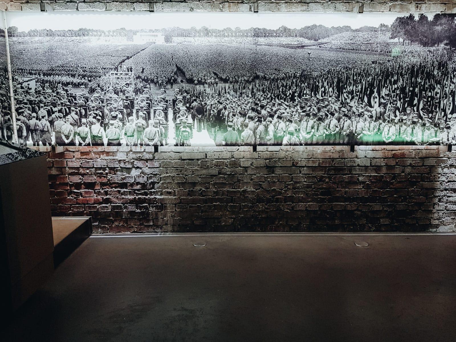 Nürnberg Sehenswürdigkeiten Austellung Dokumentationszentrum Reichsparteitagsgelände