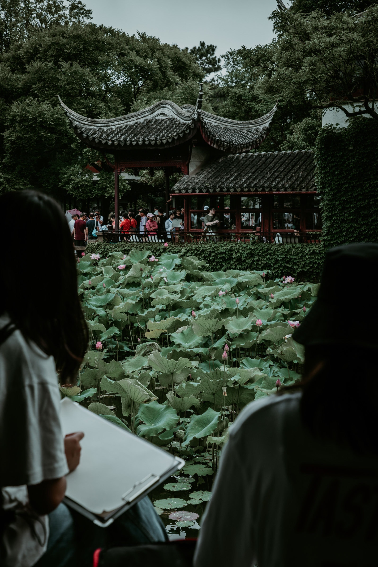 Suzhou Sehenswürdigkeiten Garten des bescheidenen Beamten Maler und Künstler