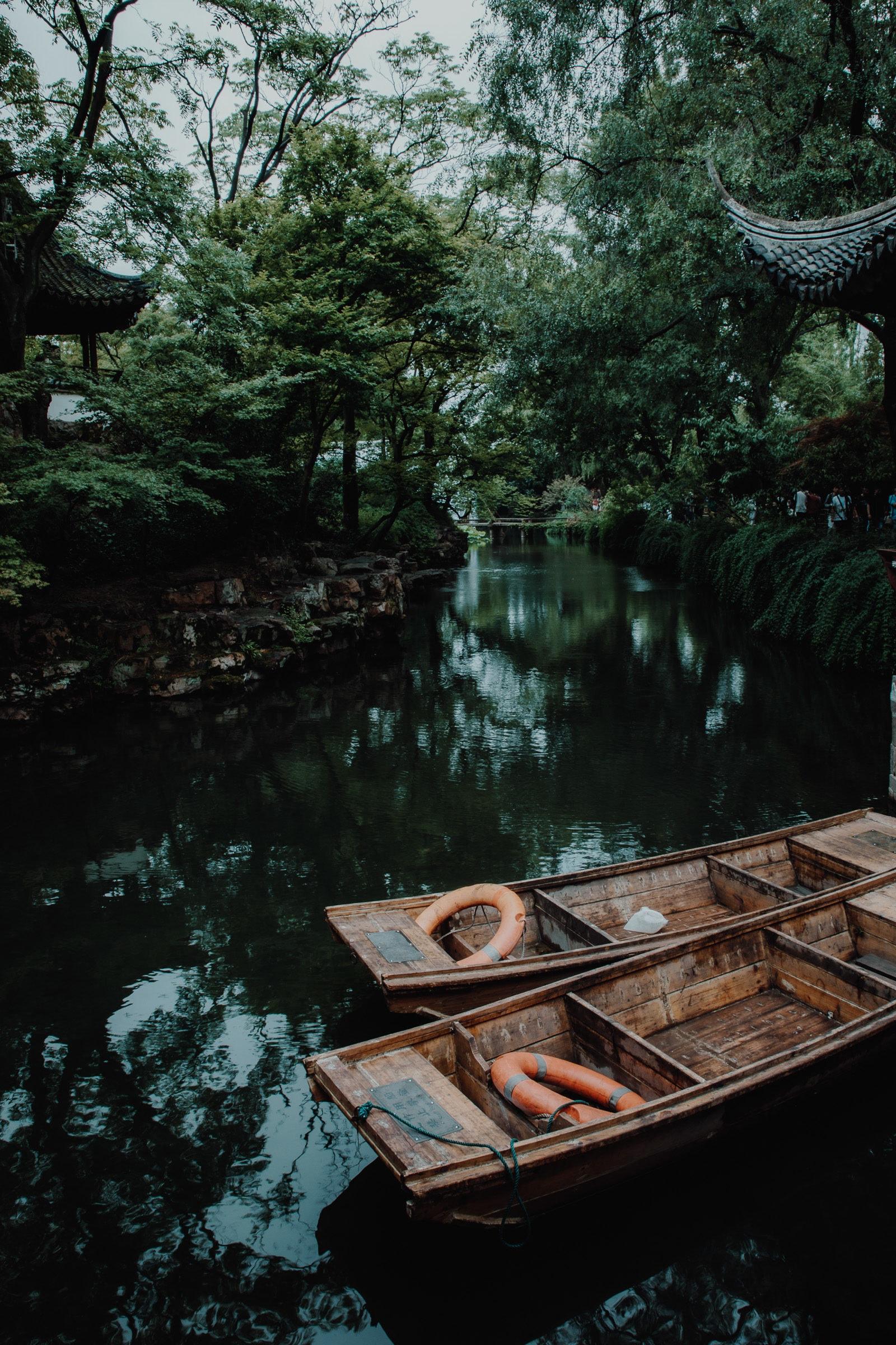Suzhou Sehenswürdigkeiten Garten des bescheidenen Beamten