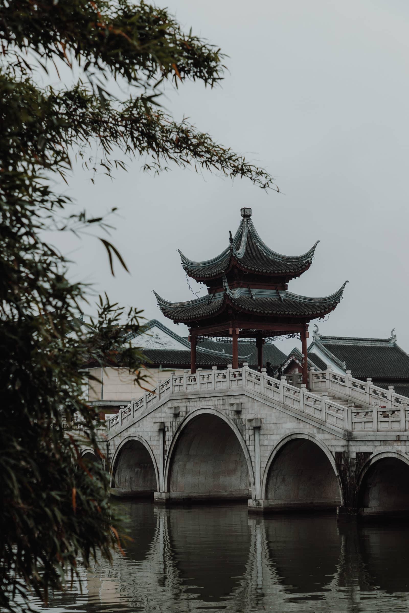 Suzhou Brücken Shantang Street Suzhou