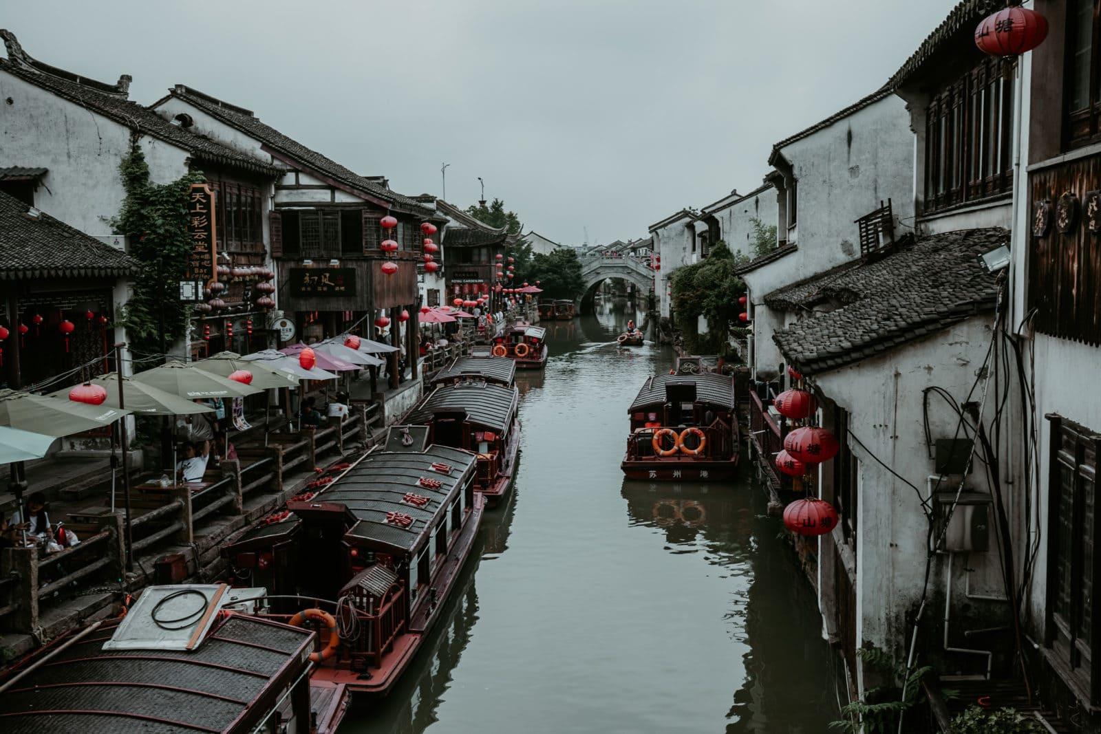 Shantang Street Suzhou Sehenswürdigkeiten China