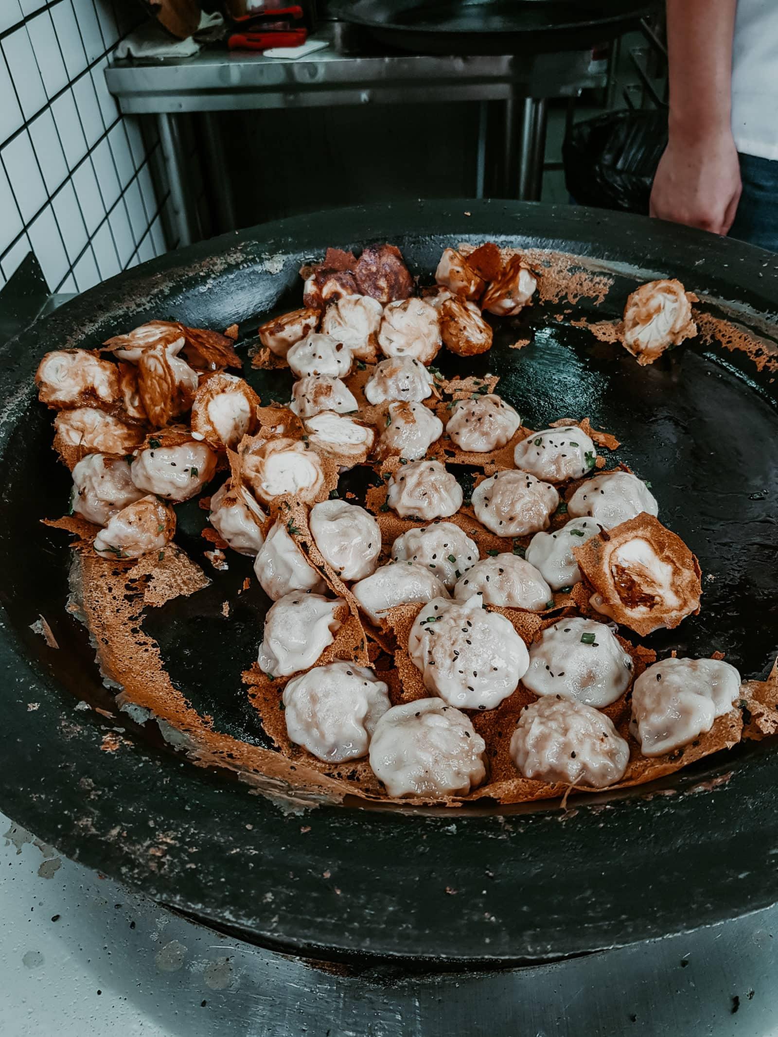 Suzhou Essen Spezialitäten Street Food Teigtaschen