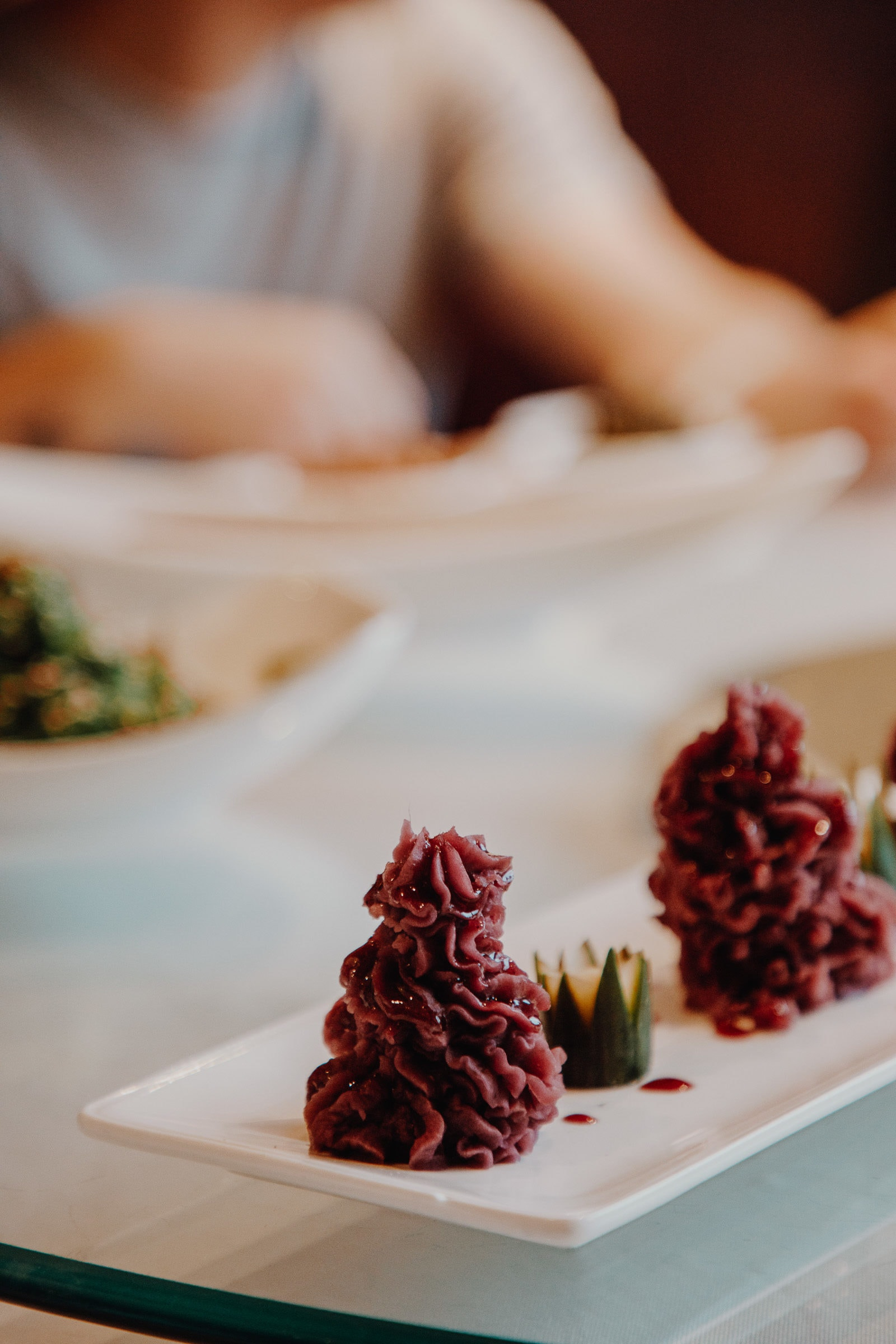 Suzhou Küche Süßkartoffel Püree