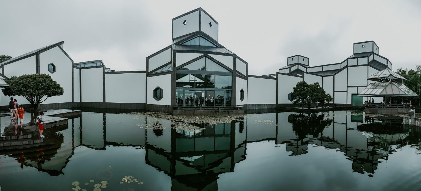Suzhou Sehenswürdigkeiten Suzhou Museum Ieoh Ming Pei