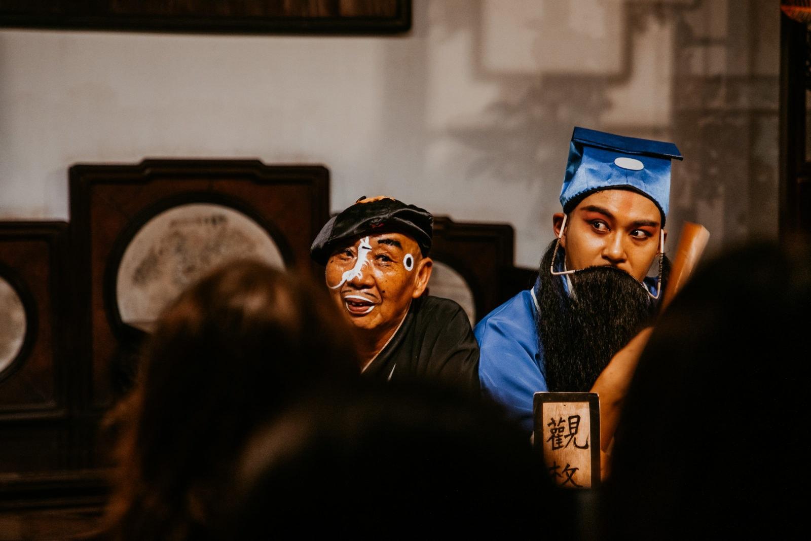Suzhou Sehenswürdigkeiten Oper Komödie im Garten des Meisters der Netze