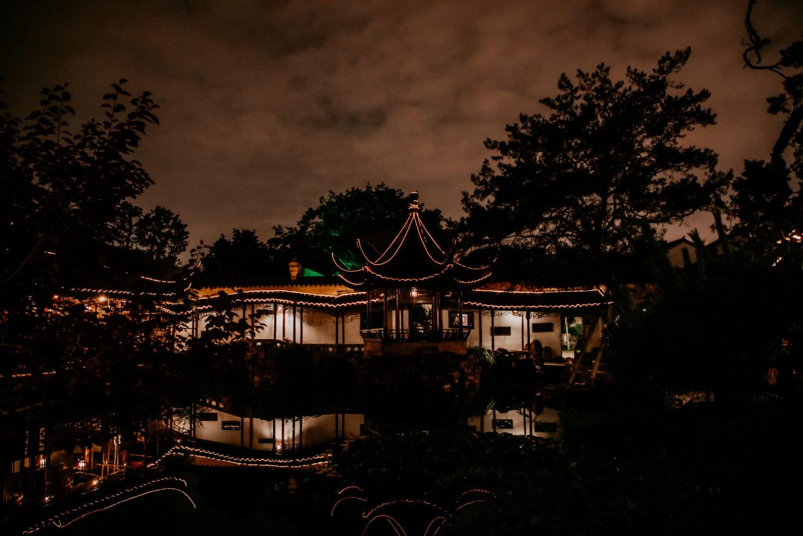 Suzhou Sehenswürdigkeiten Oper im Garten des Meister der Netze