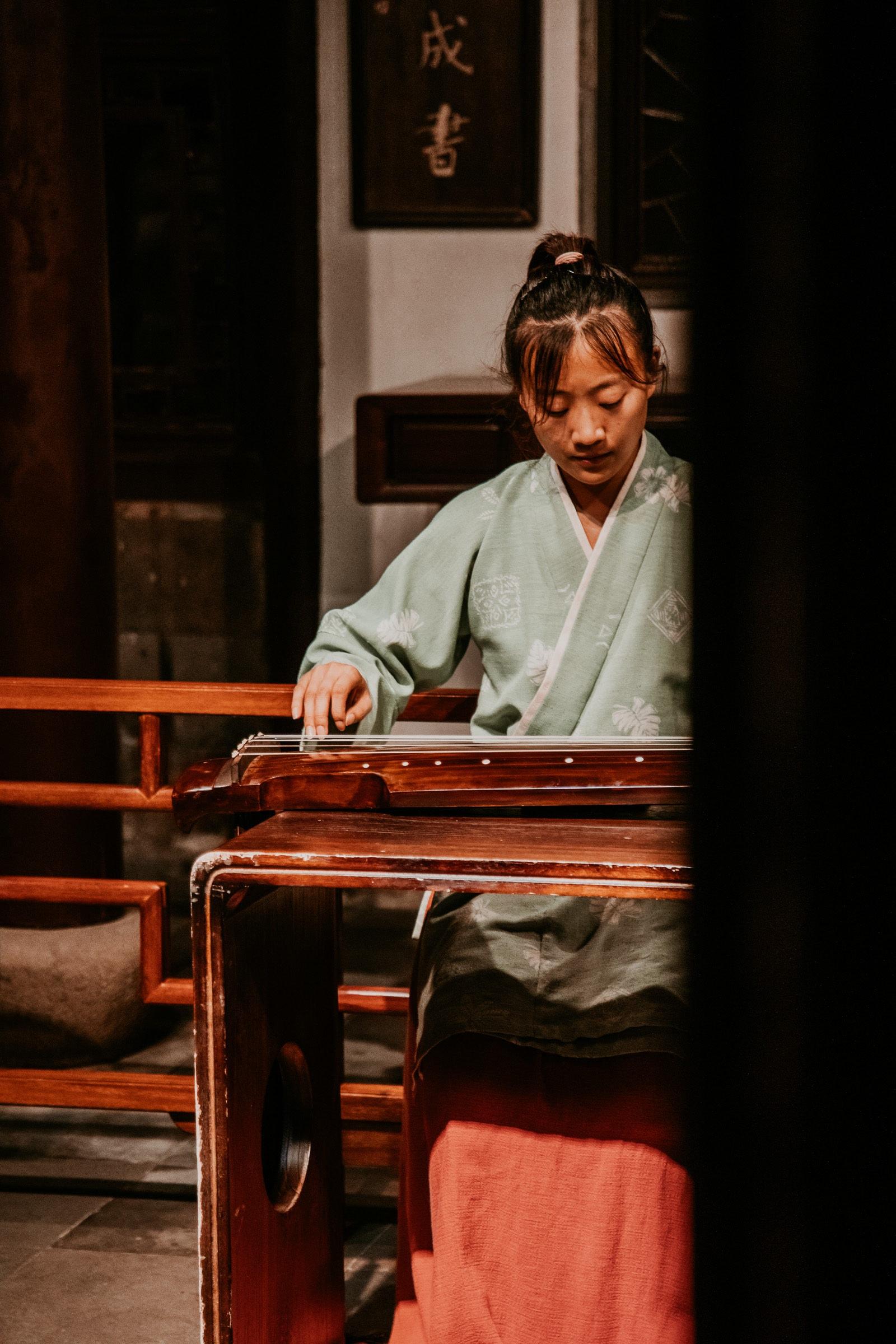 Suzhou Oper Garten des Meisters der Netze