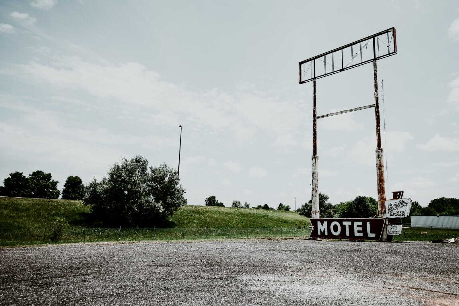 alte motel schilder in illinois