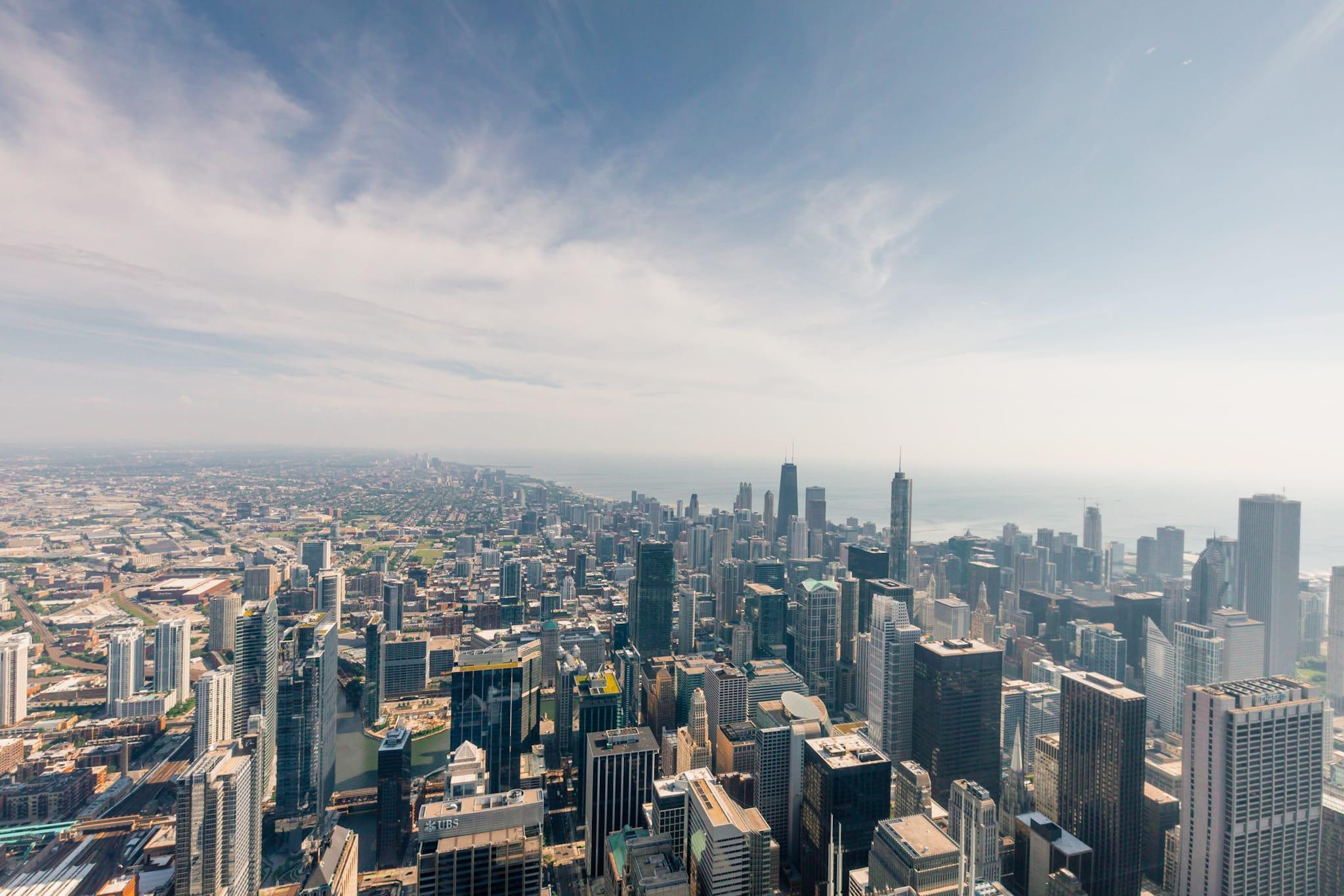 Chicago Skydeck Aussicht Fast Track