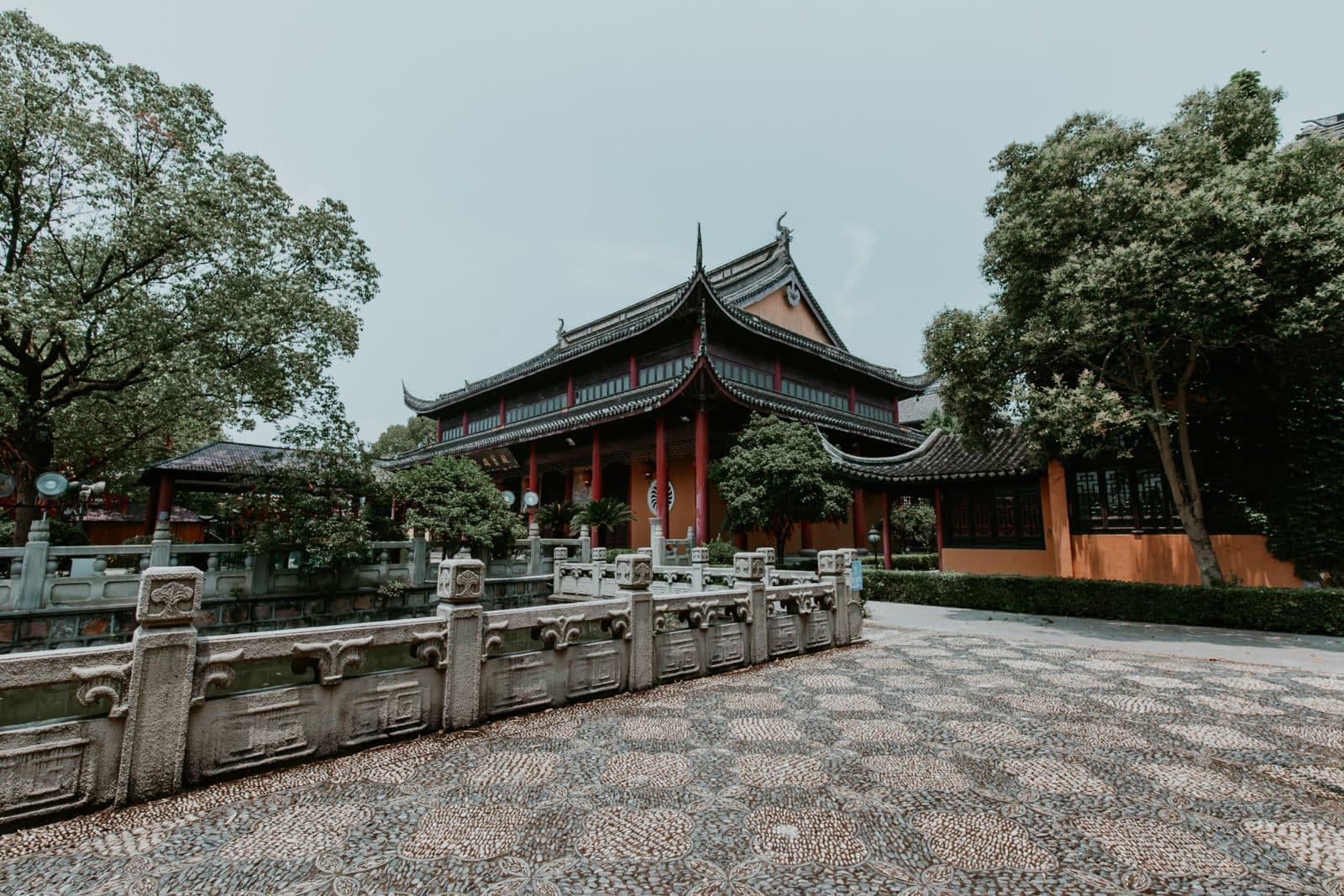 Quanfu Tempel Zhouzhuang