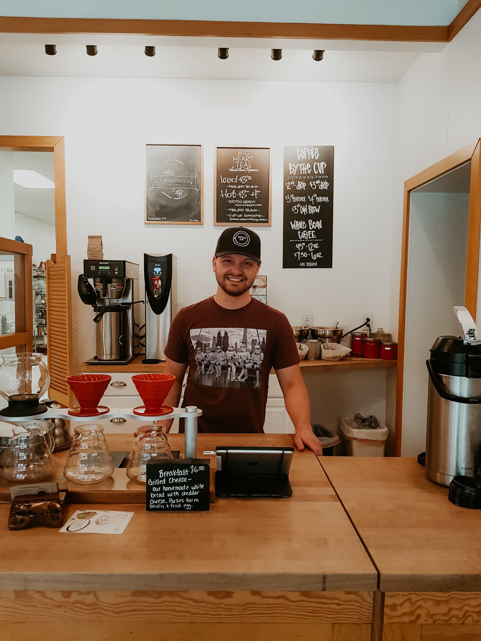 Springfield Illinois Illinois Maker Café Custom Cup Coffee