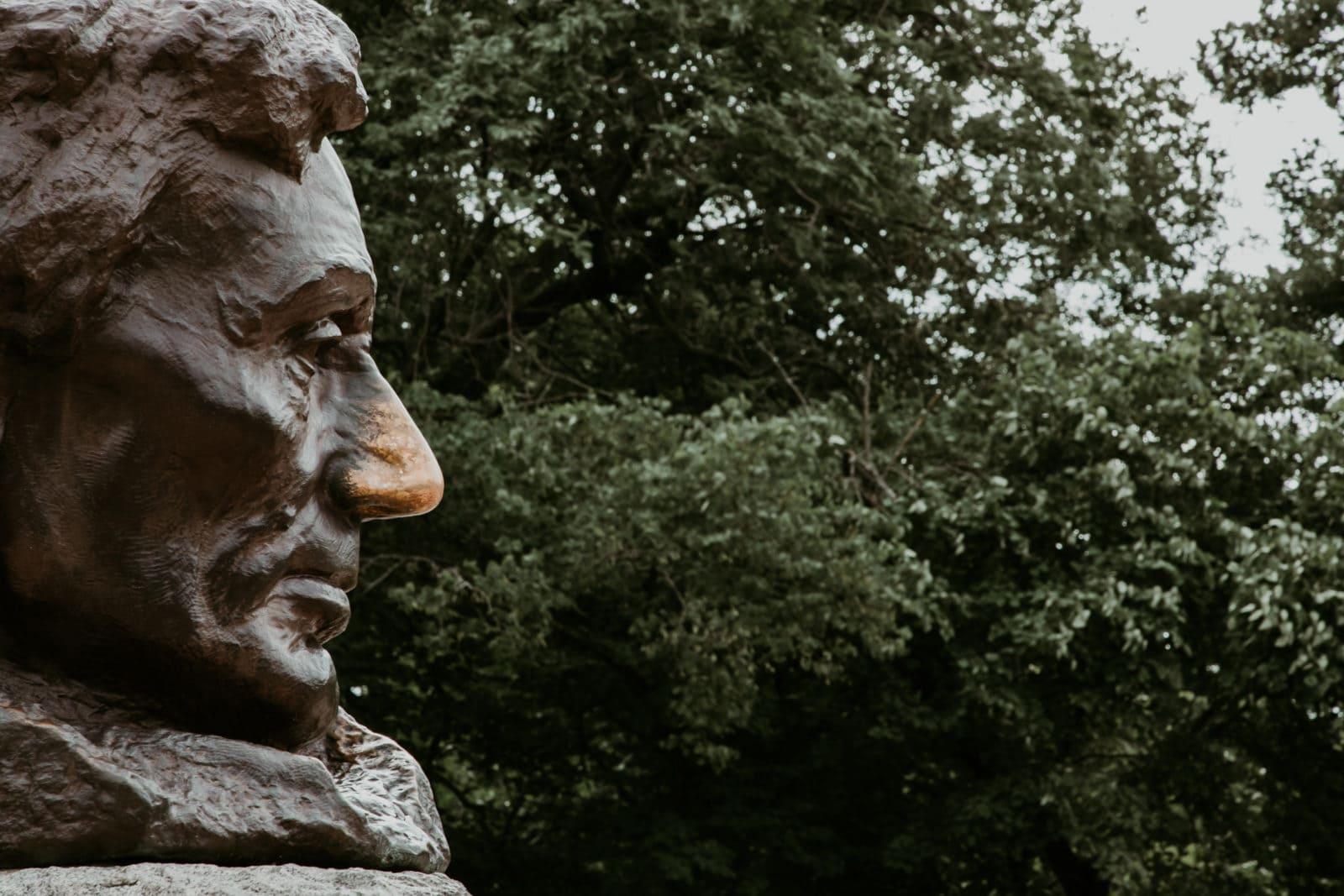 Springfield Illinois Abraham Lincoln Nase Glücksbringer