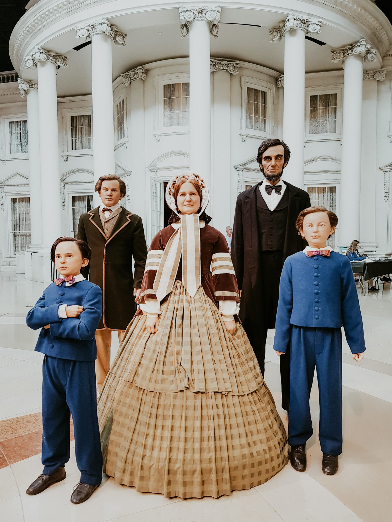 Springfield Illinois Abraham Lincoln und Familie Museum