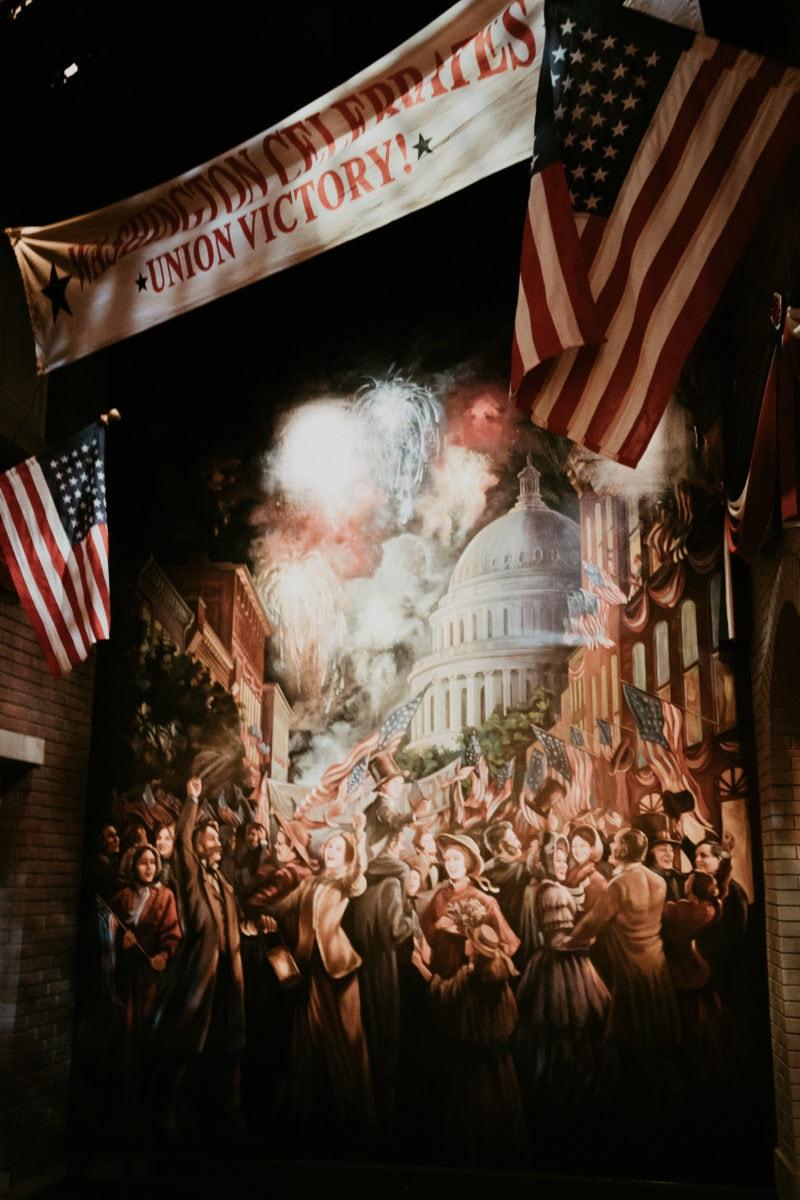 Springfield Illinois Abraham Lincoln Presidential Museum Gemälde zur Unabhängigkeit