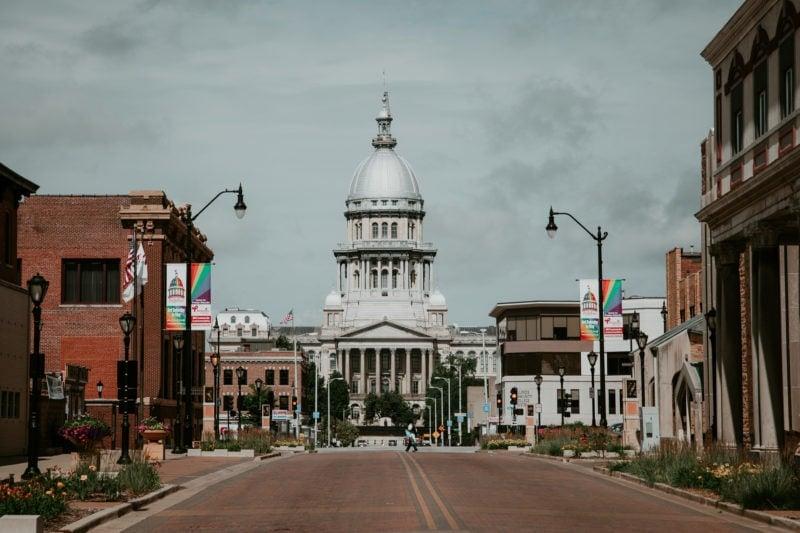 Springfield Illinois State Capitol