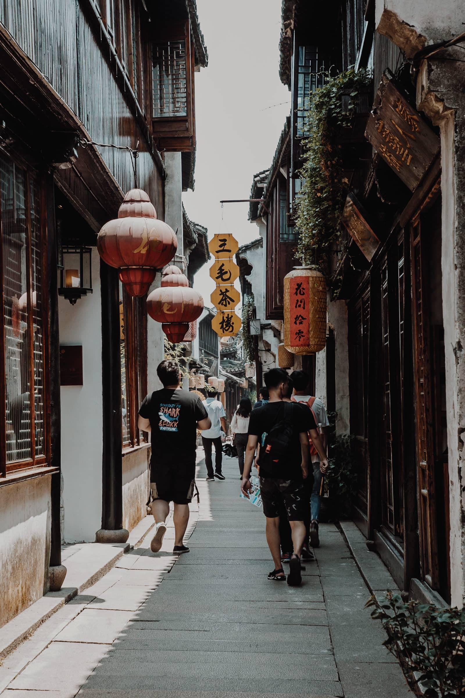 Zhouzhuang China Altstadt