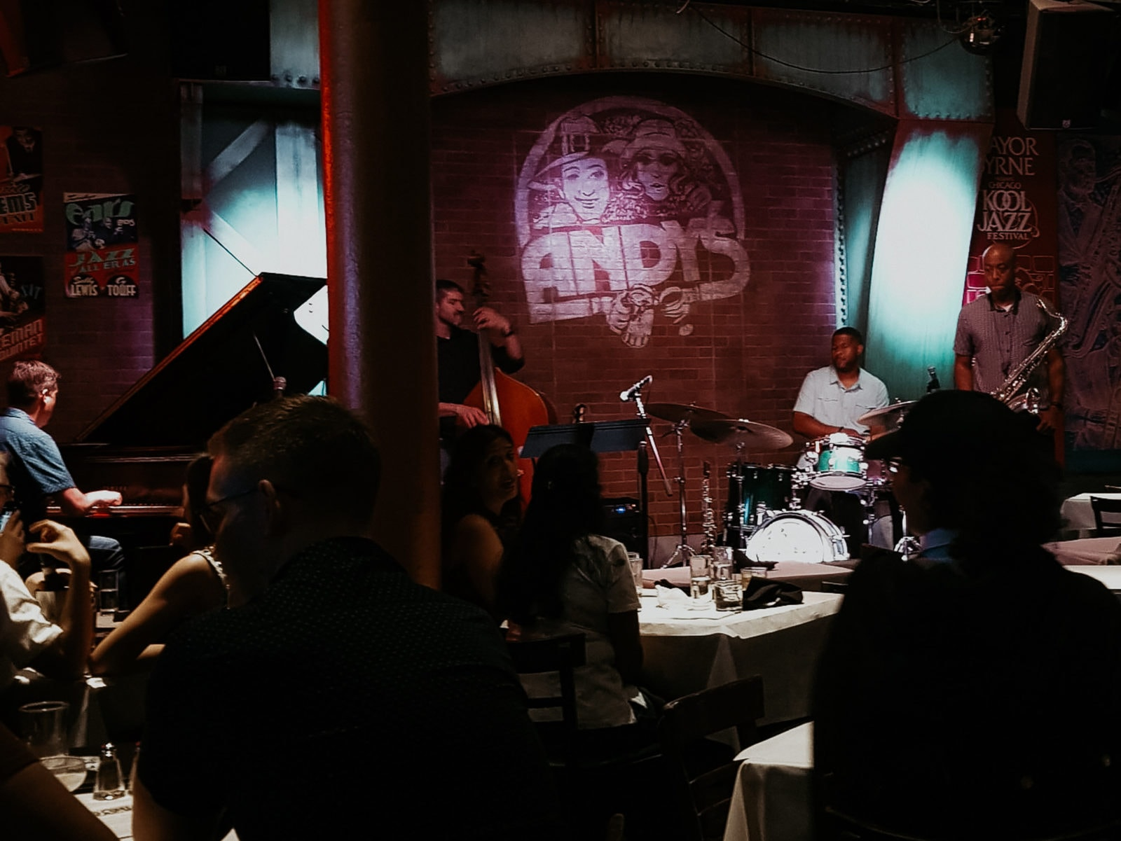 Chicago Sehenswürdigkeiten Andys Jazz Club Livemusik