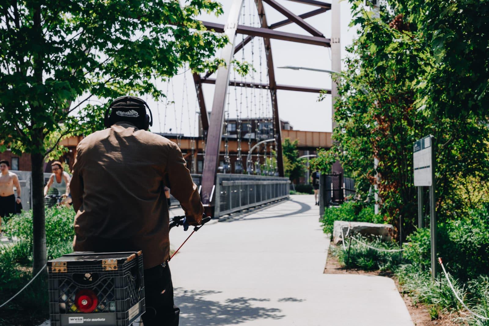 Chicago Sehenswürdigkeiten 606 Trail Bloomingdale Line
