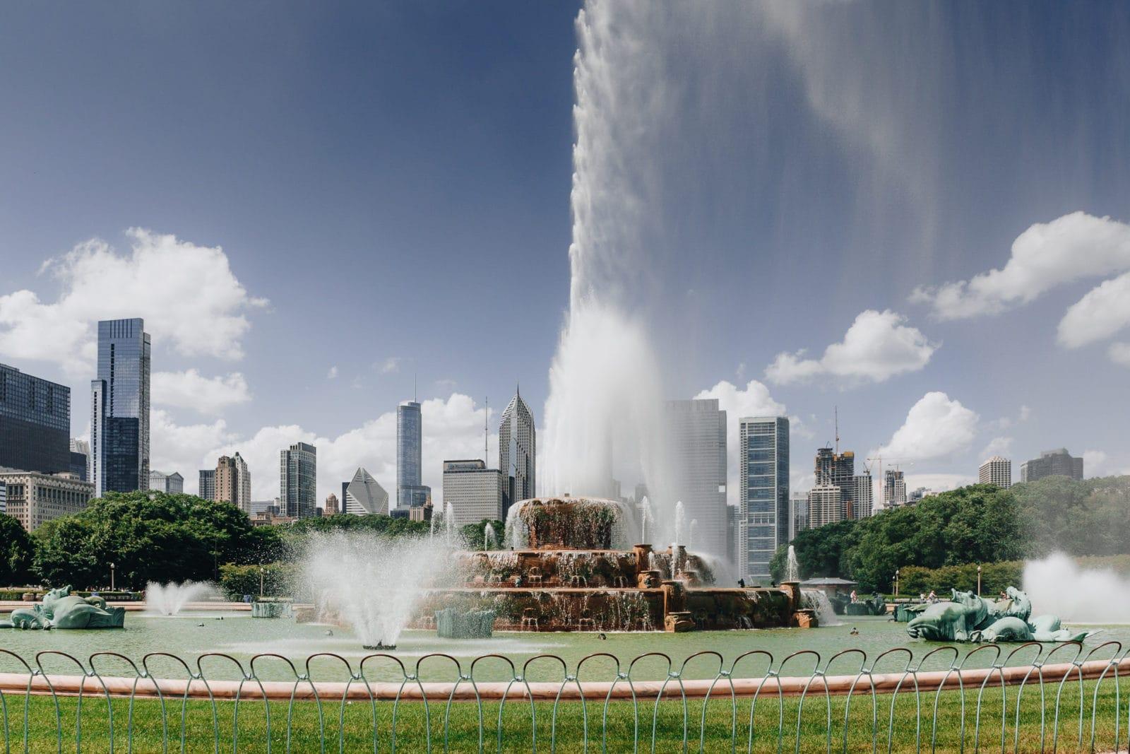 Chicago Sehenswürdigkeiten Buckingham Fountain Brunnen Al Bundy Eine schreckliche nette Familie