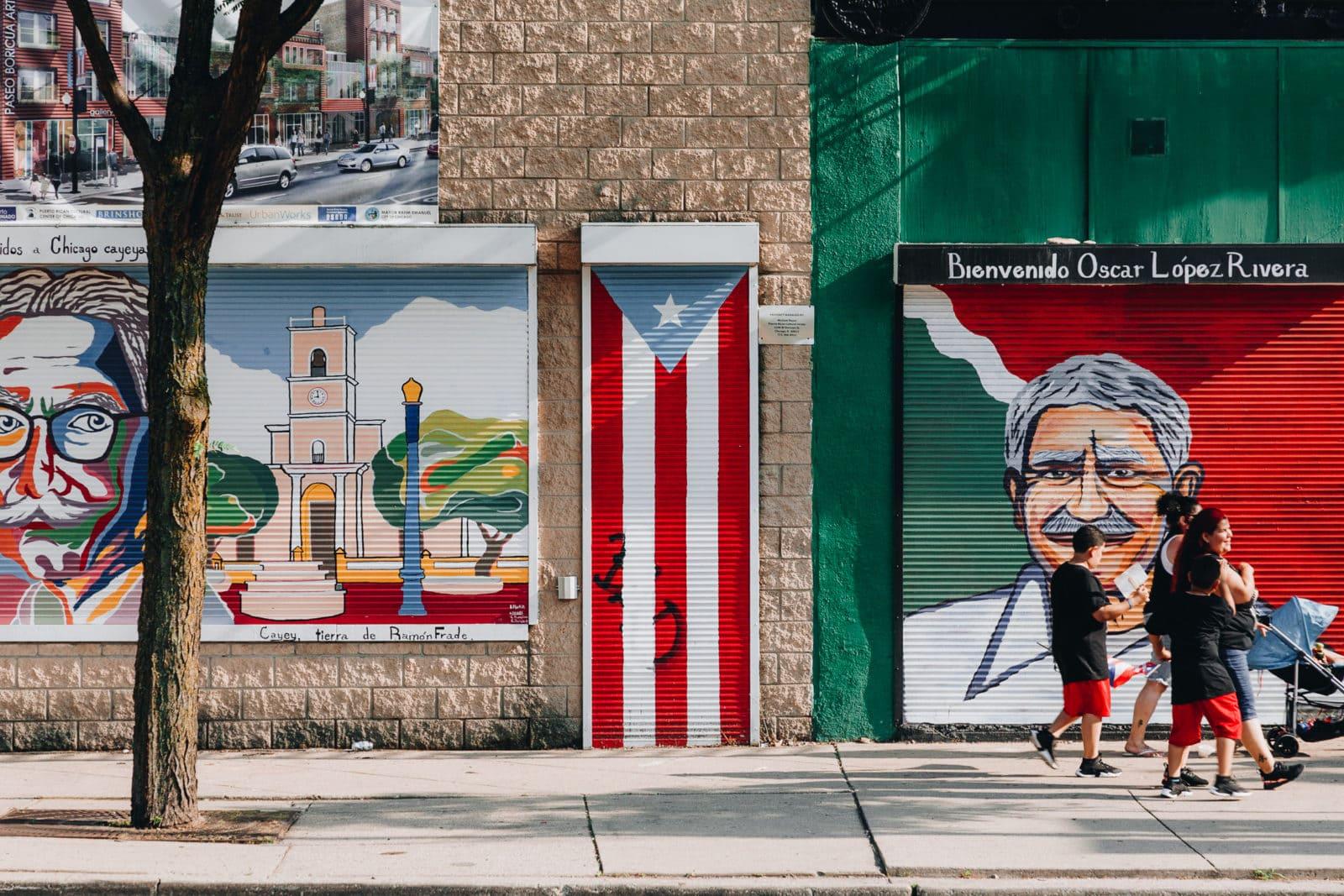 Chicago Sehenswürdigkeiten Humboldt Park Puerto Rico