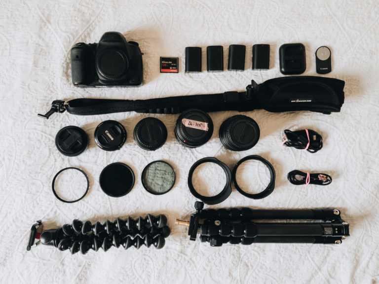 Fotografie Ausrüstung Reise Objektive Spiegelreflexkamera