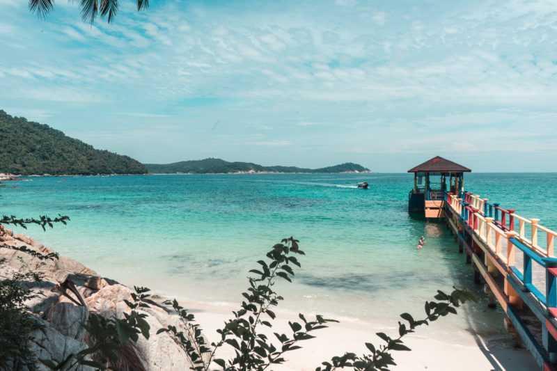 Perhentian Islands Perhentian Besar Insel Strand
