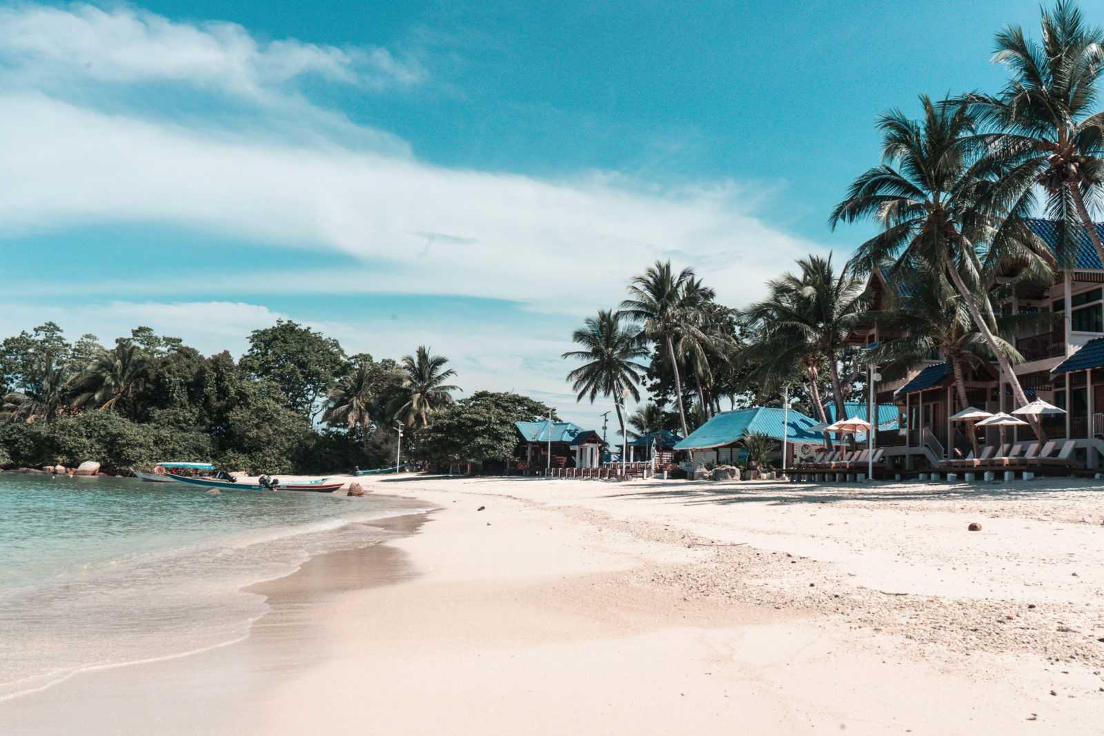 Perhentian Islands Pulau Perhentian Besar Malaysia Strand
