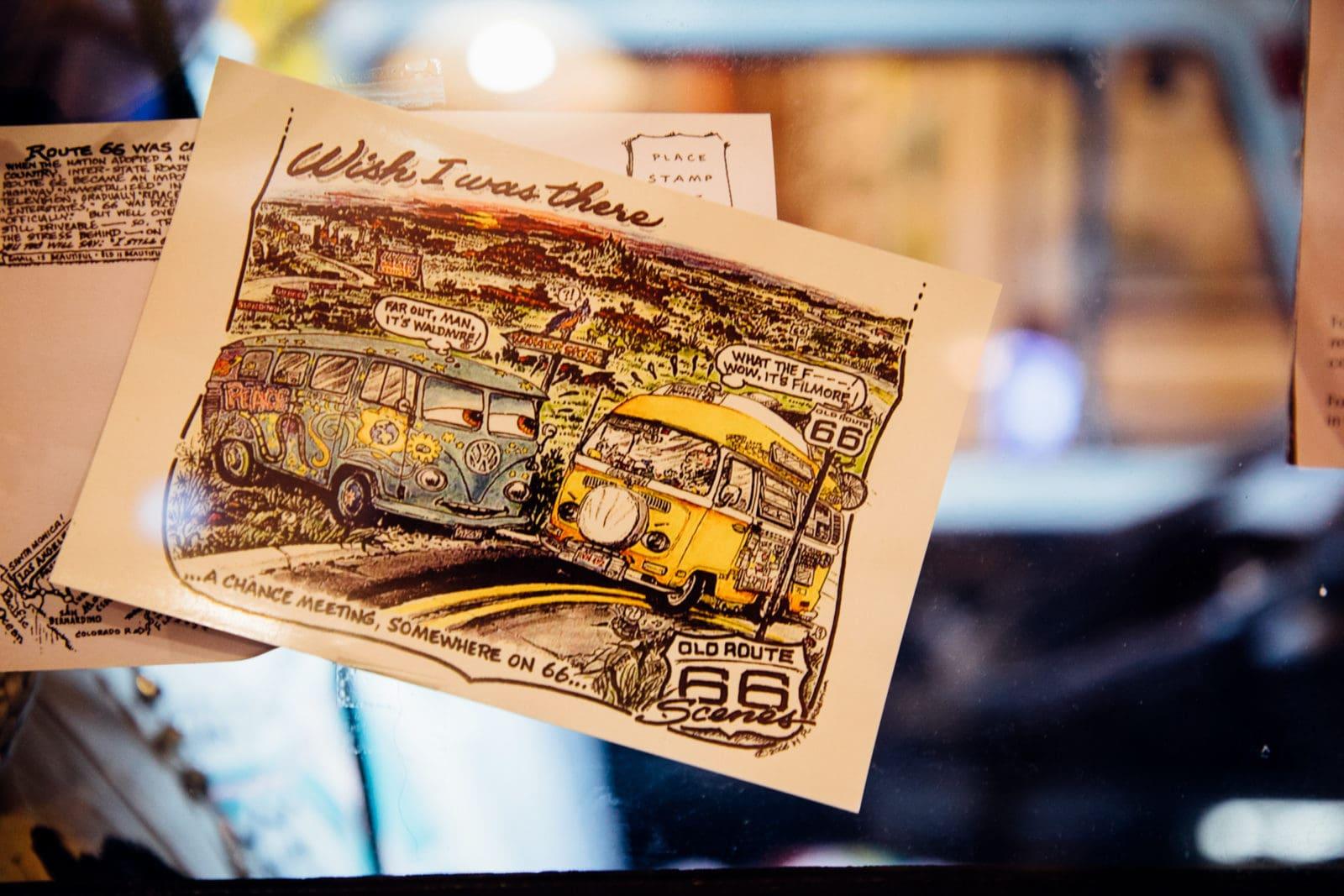 pontiac illinois bob waldmire postkarten