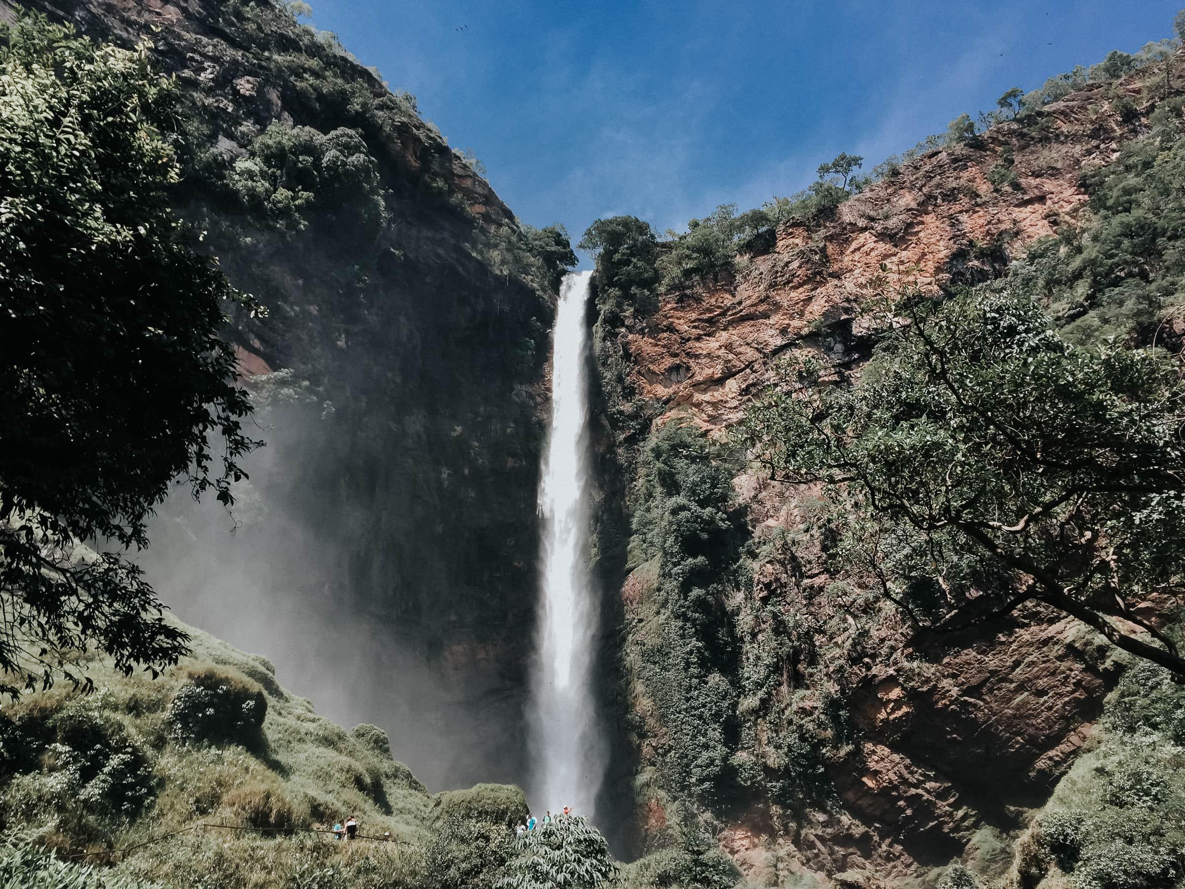 Salto do Itiquira Wasserfall Brasilien