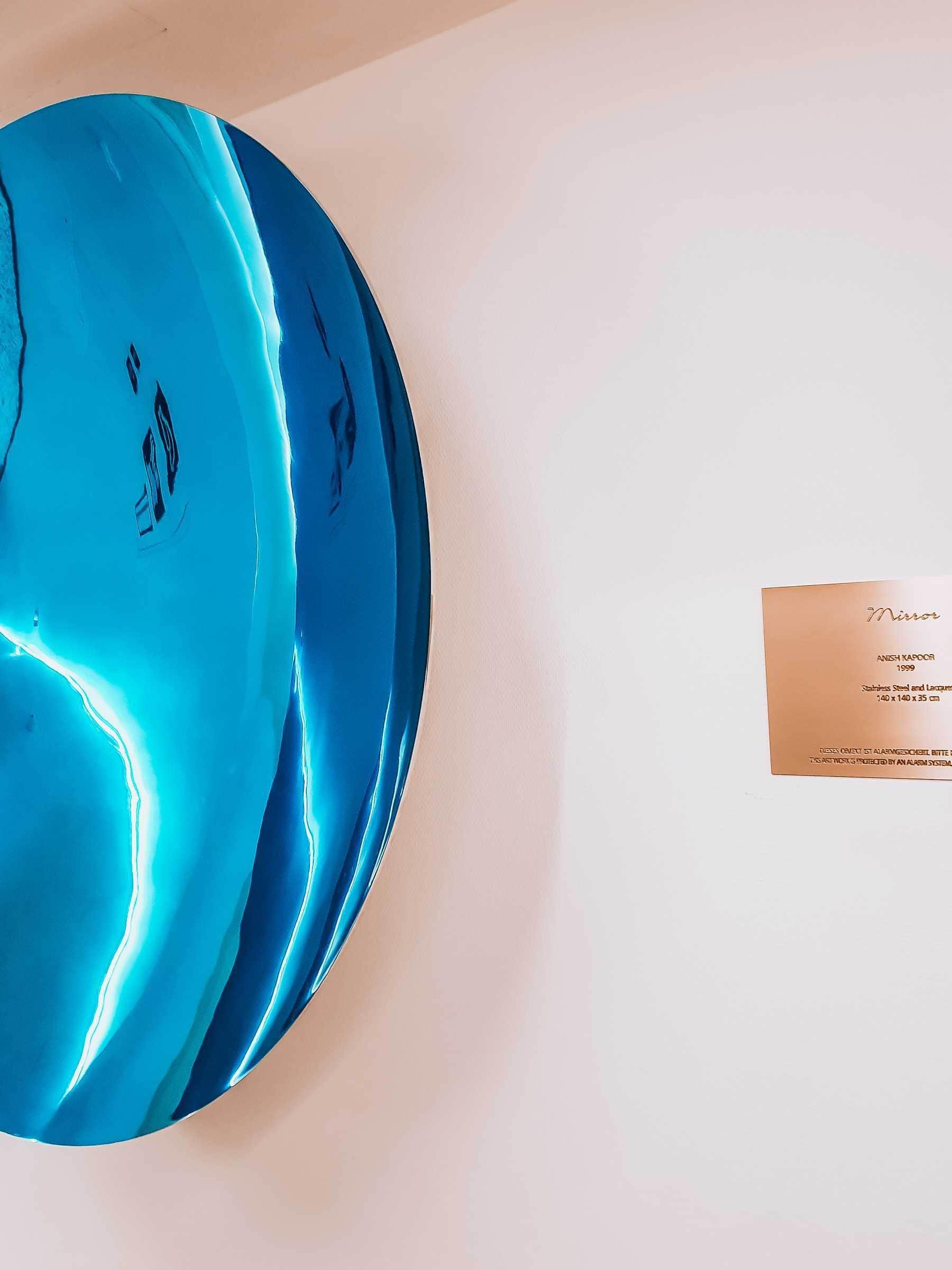 Mirror Anish Kapoor Seven Senses Hotel Stein Salzburg