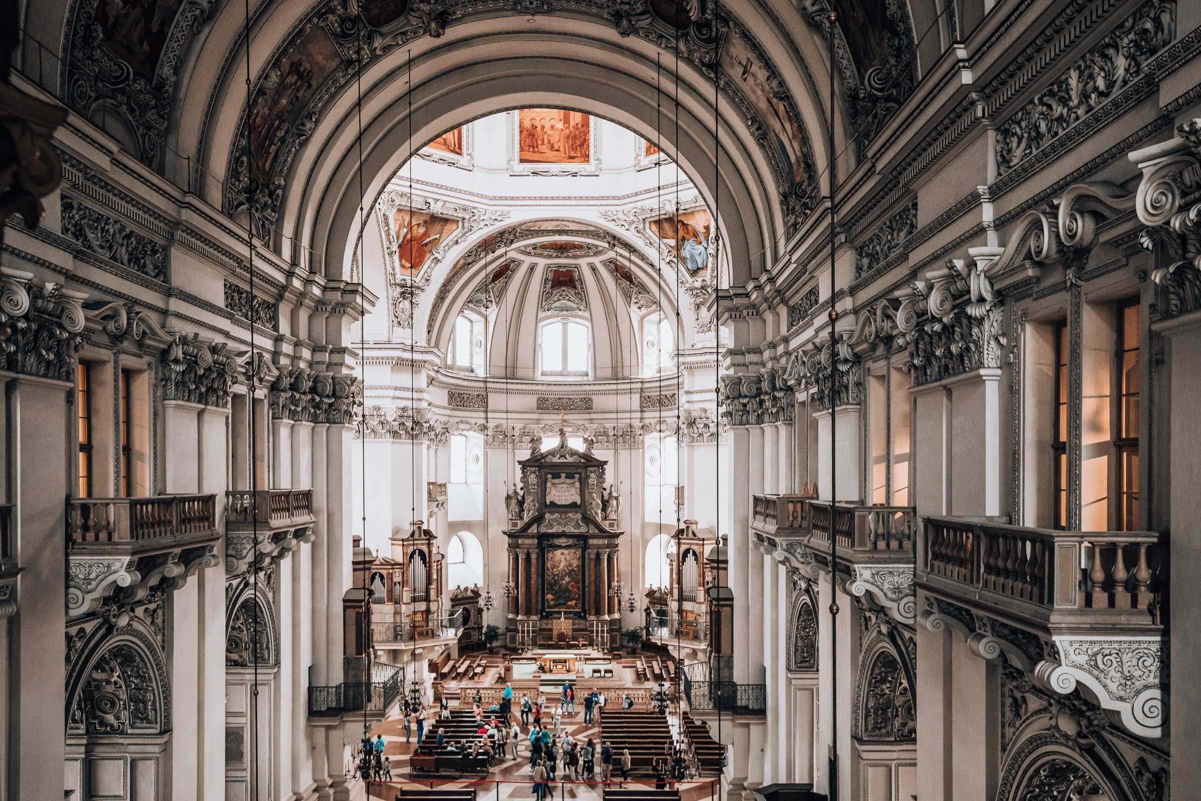 Dom zu Salzburg Innenansicht