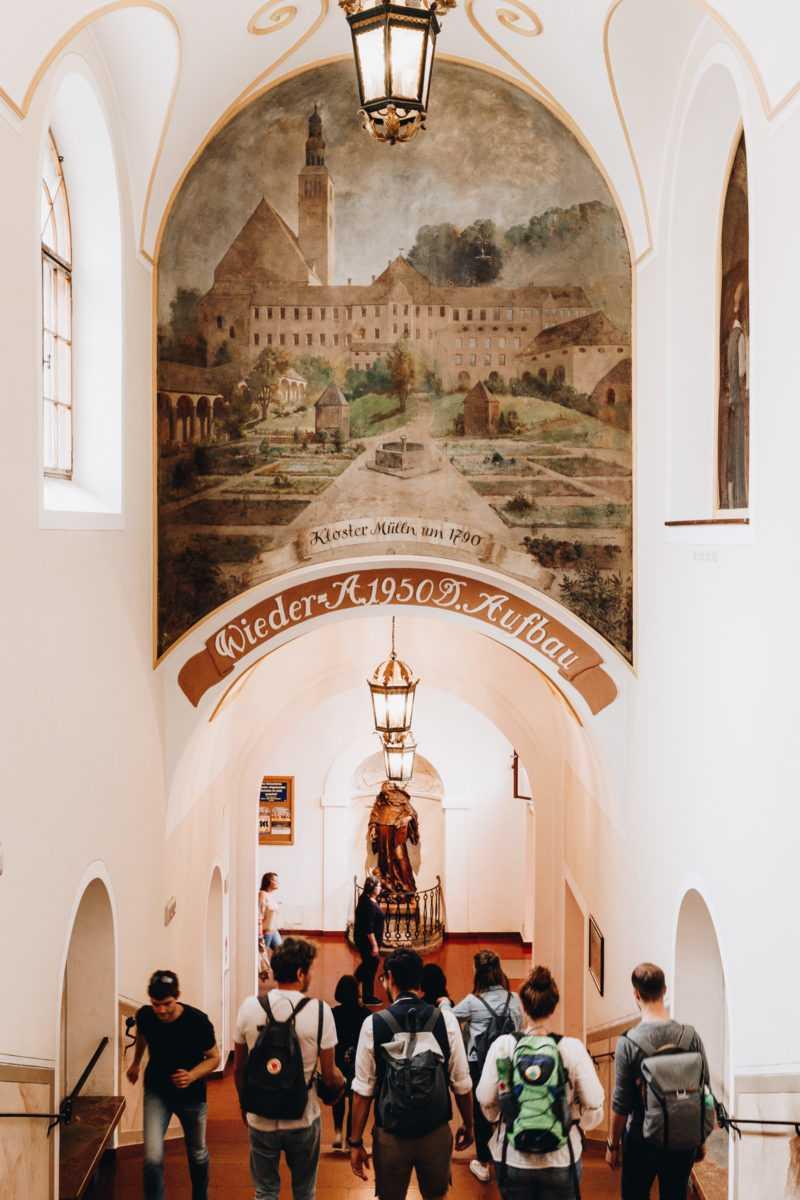 eingang augustiner bräu mülln