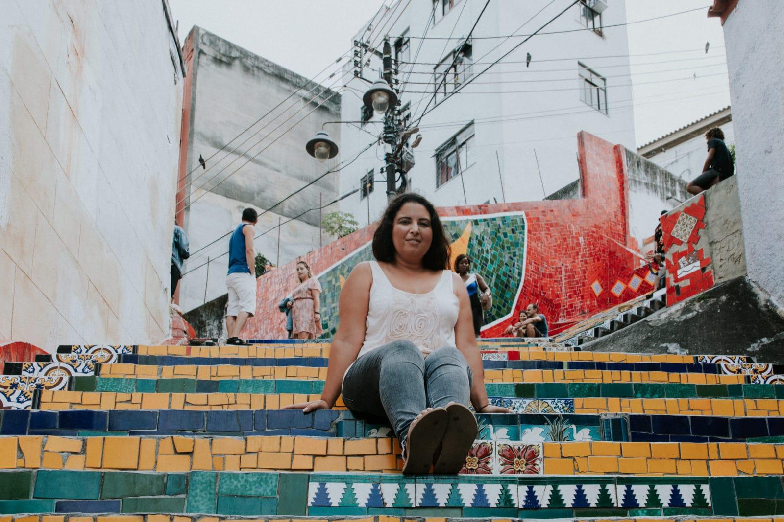 Rio de Janeiro Sehenswürdigkeiten Escadaria Selaron