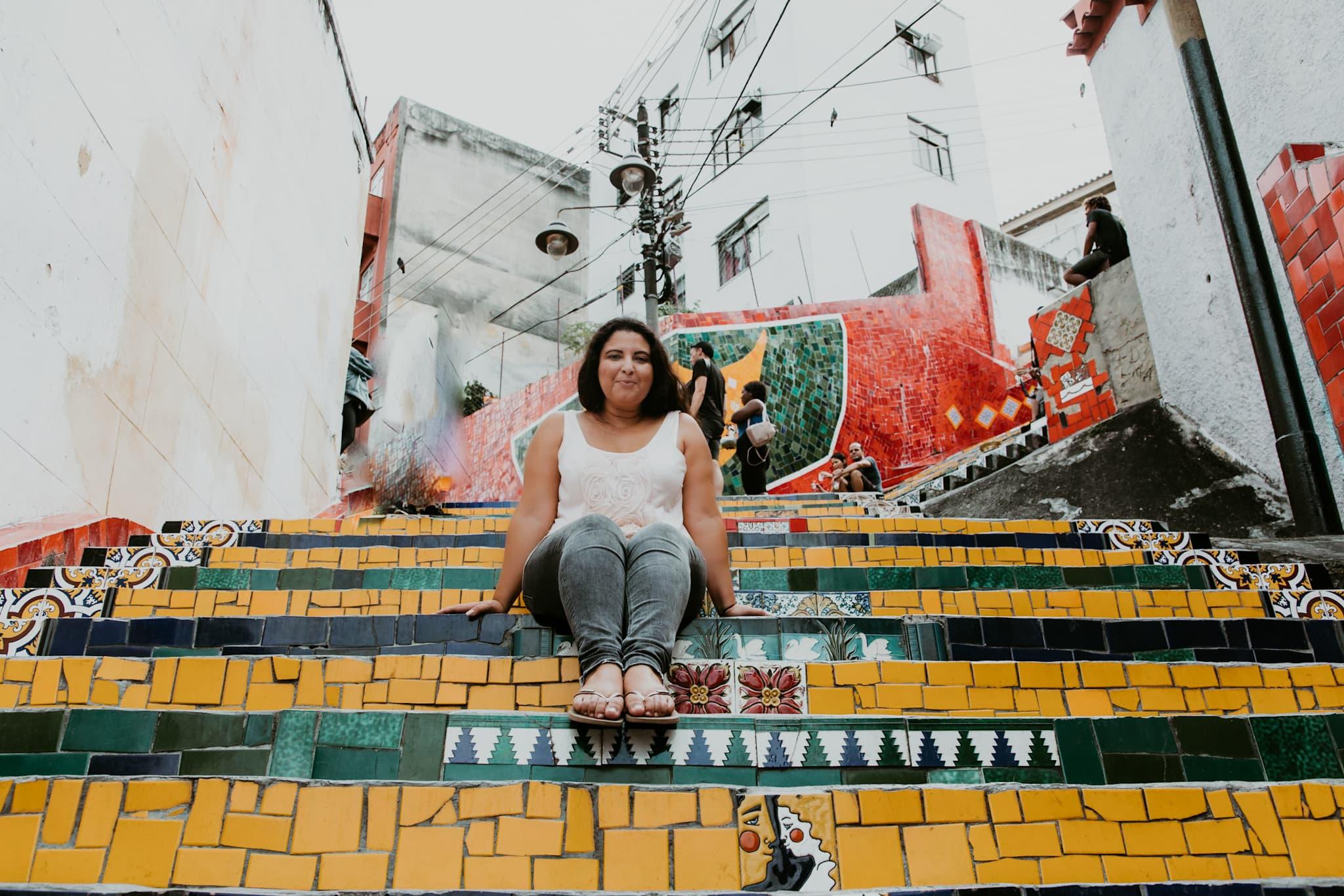 Rio de Janeiro Sicherheit Allein reisen Escadaria Selaron