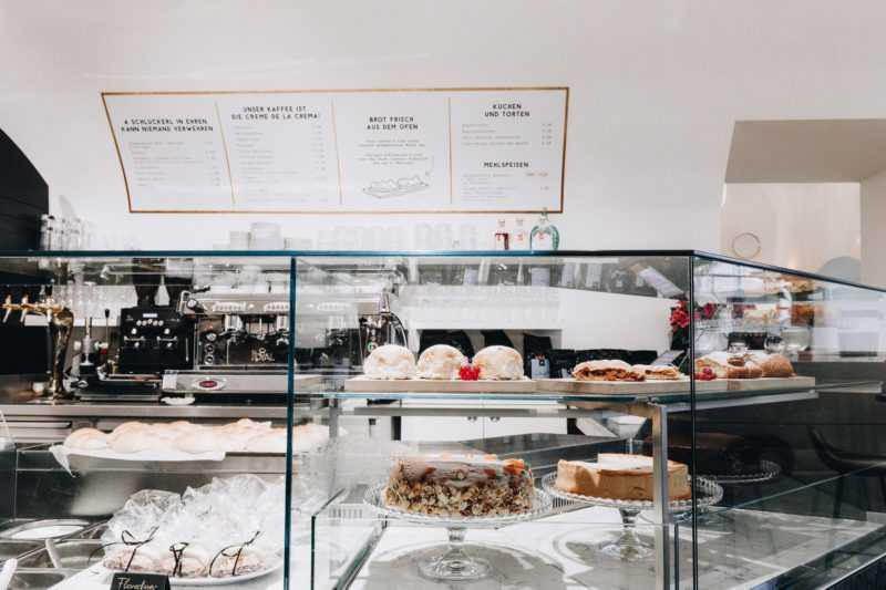 Pastries at Herr Leopold Salzburg