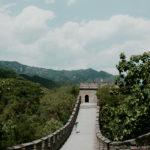 Chinesische Mauer Mutianyu Peking Länge