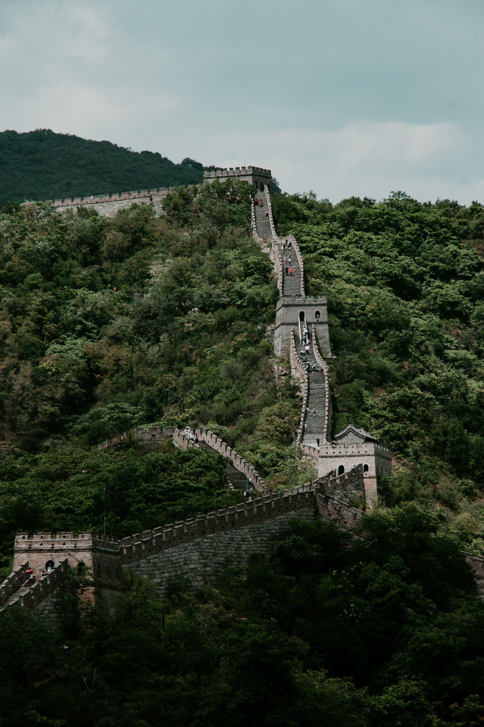 Chinesische Mauer Länge