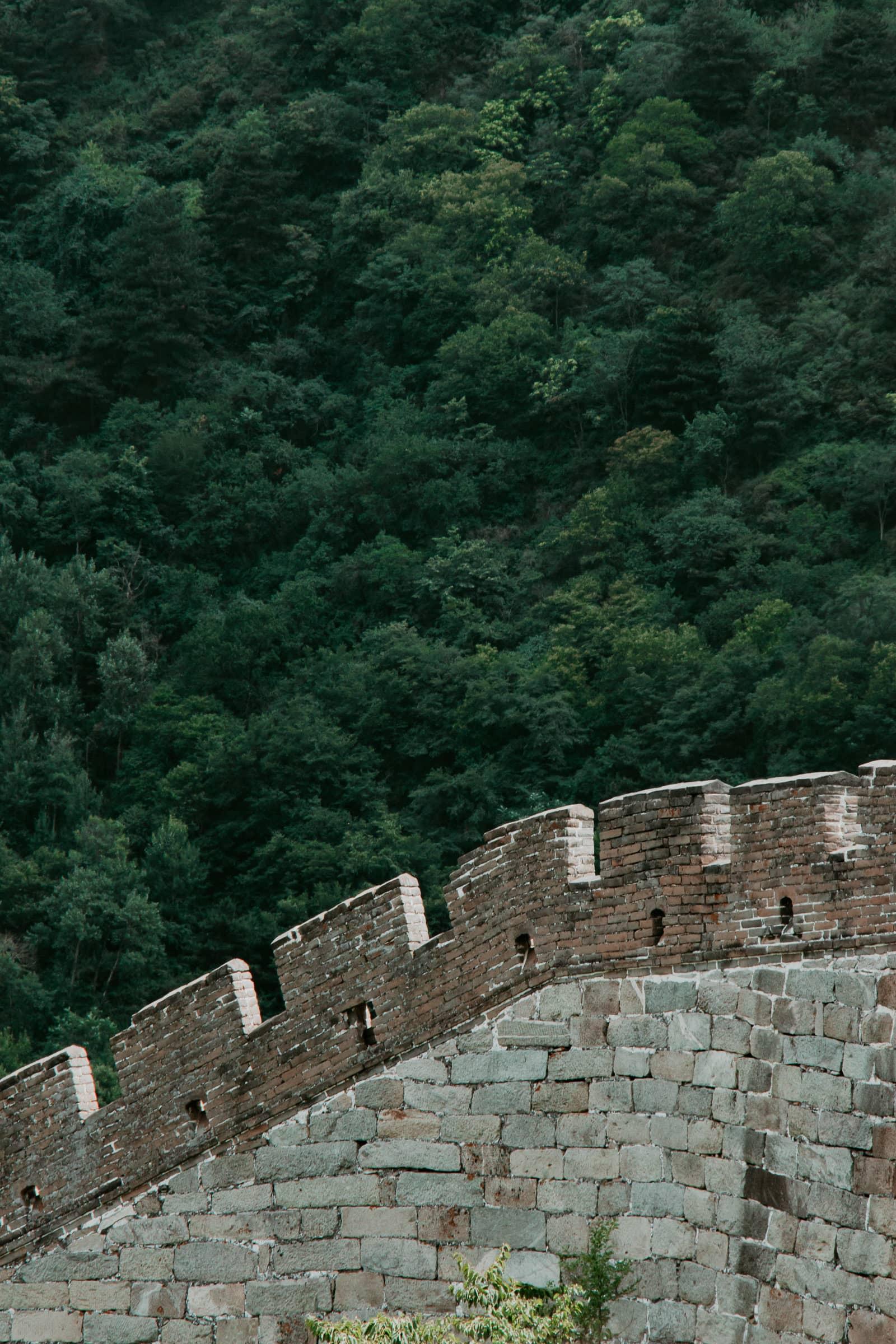 Chinesische Mauer Peking Mutianyu