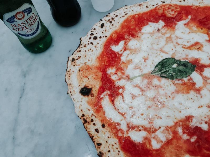 Pizza Neapel Pizza Margherita
