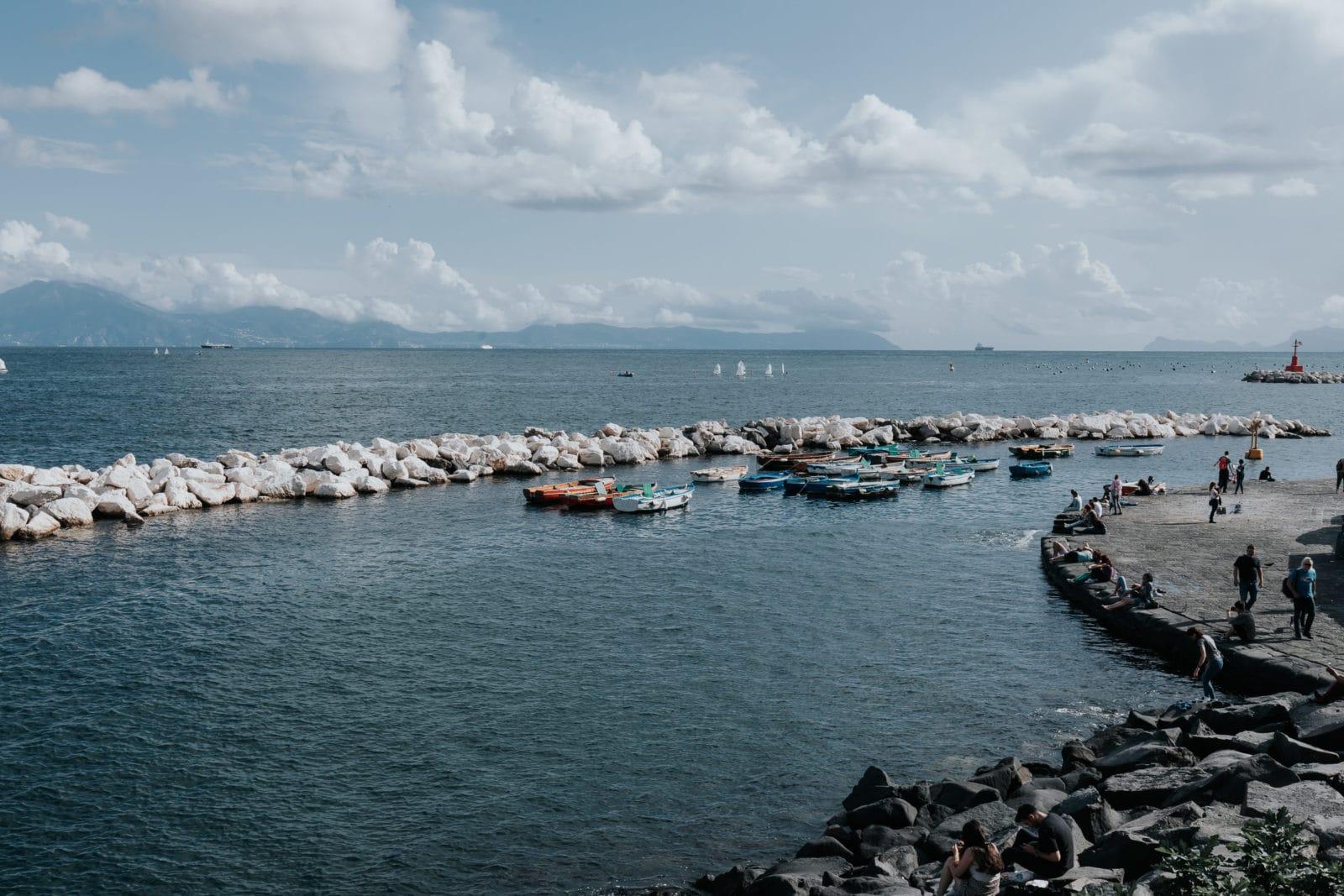 Neapel Sehenswürdigkeiten Promenade