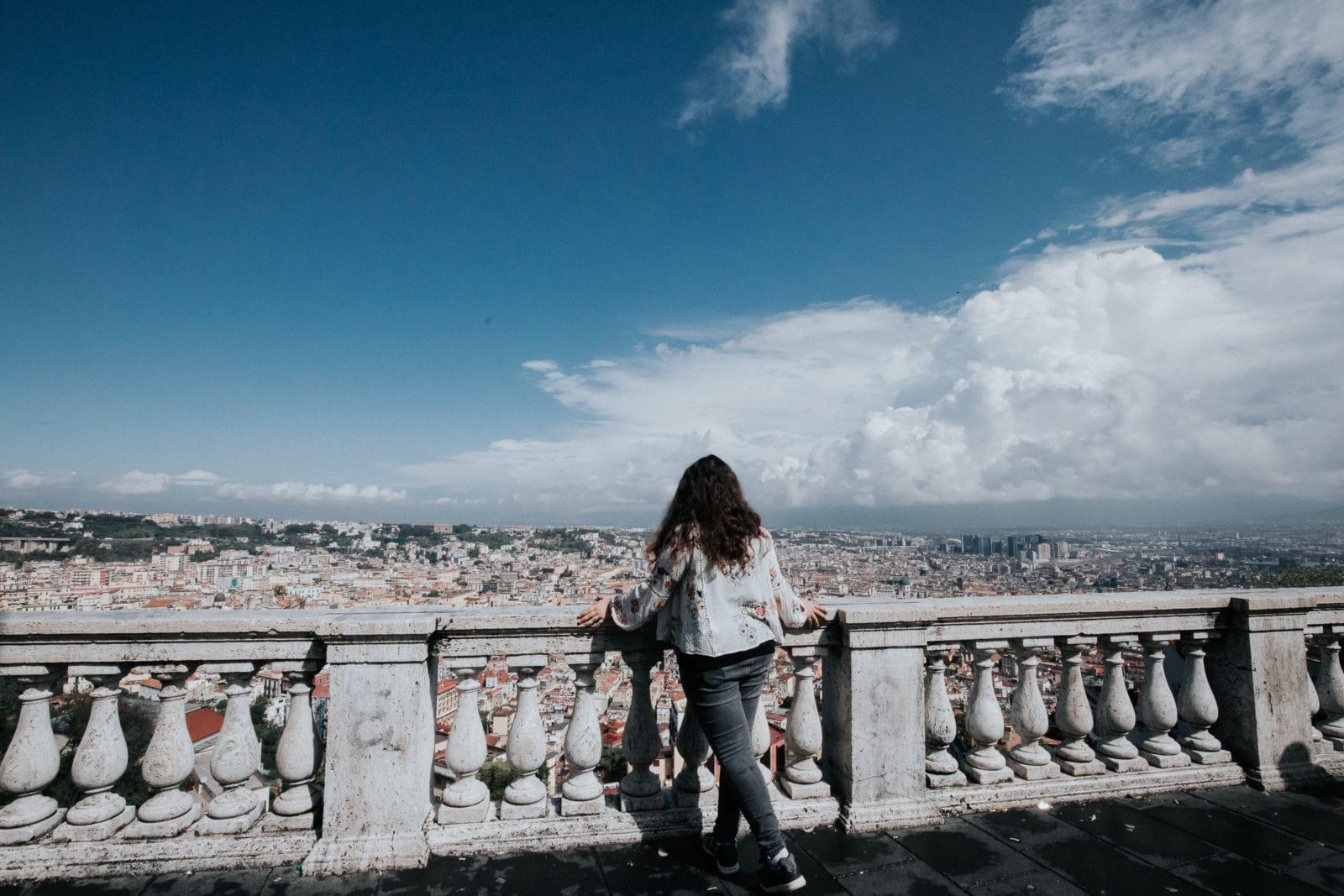 Neapel Sehenswürdigkeiten Aussicht Castell Sant Elmo