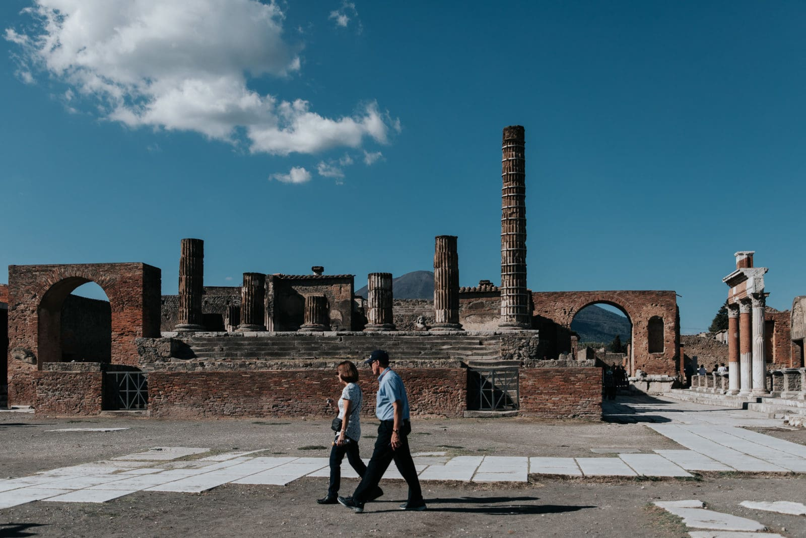 Pompeji Forum Marktplatz