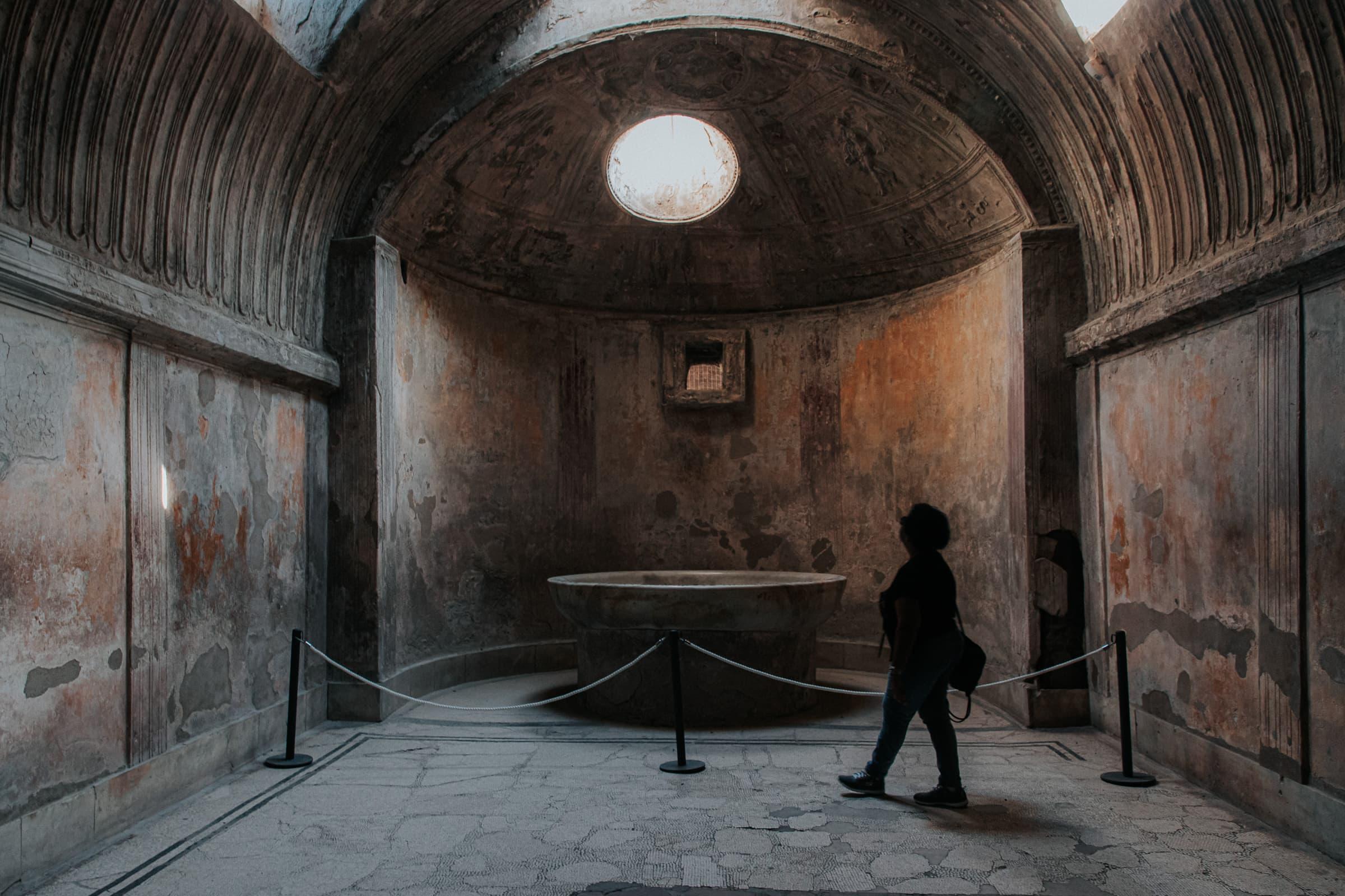 Pompeji Sehenswürdigkeiten Therme
