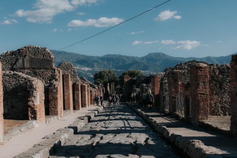 Pompeii Via Stabiana