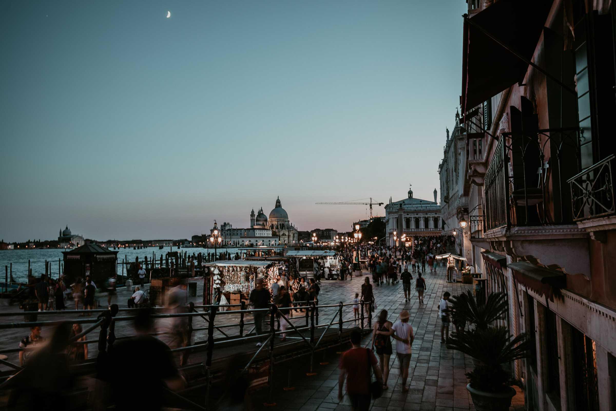 San Marco Promenade Nacht