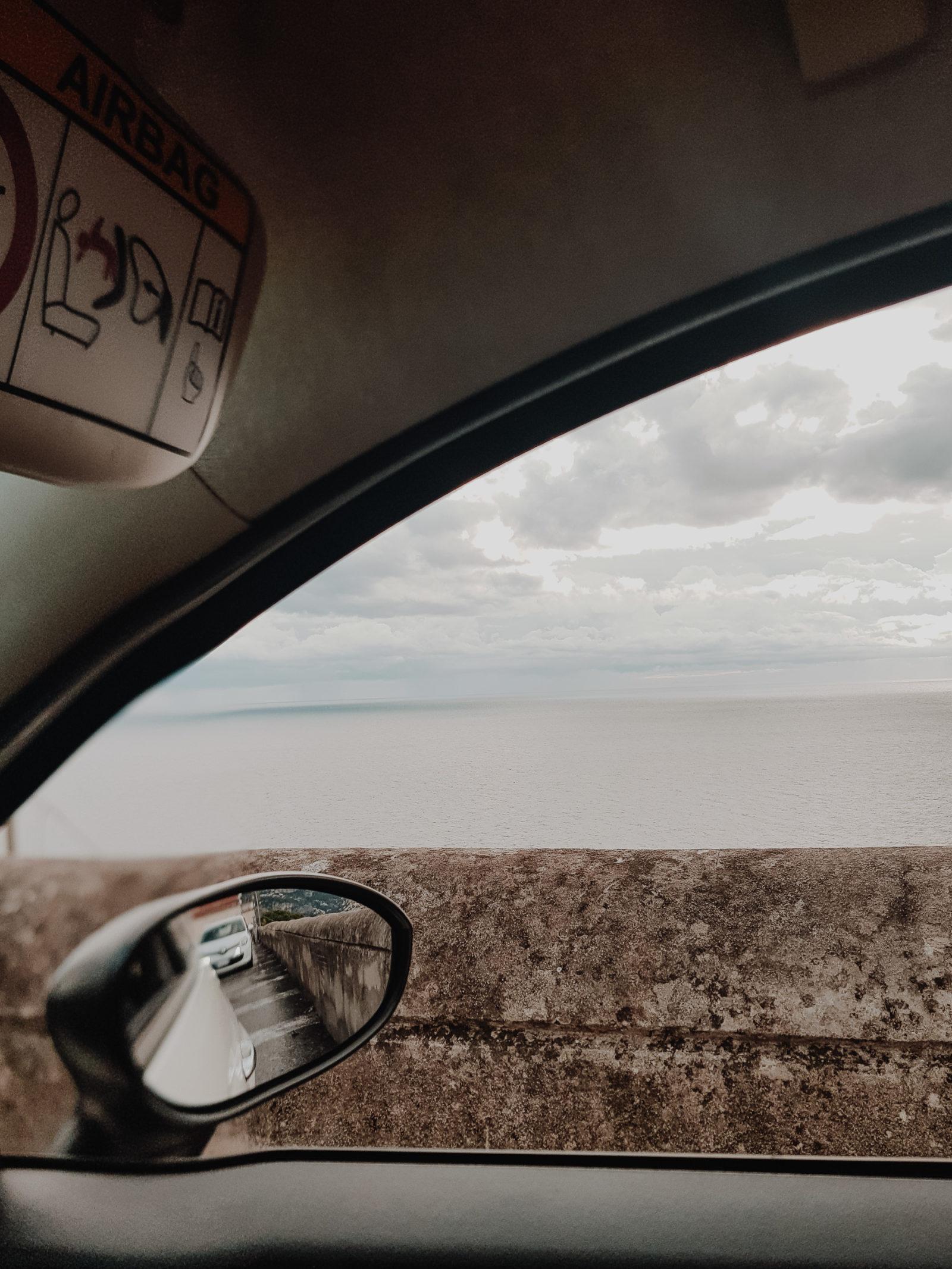 Amalfitana Straße Autofahren Italien